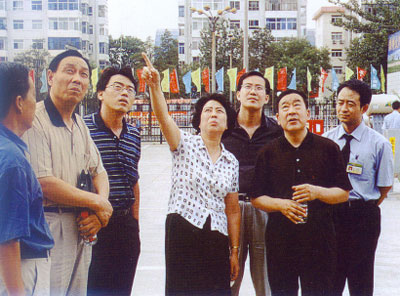 山西省副省长胡苏平同志(到馆)指导工作