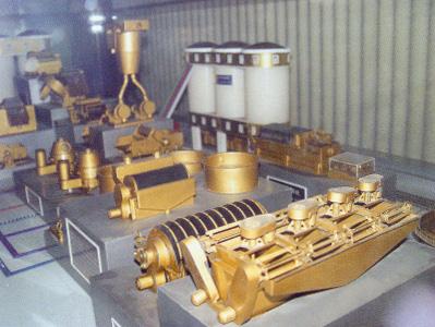 洗煤厂设备流程模拟