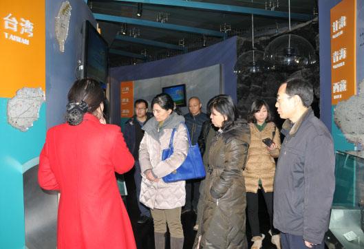 北京自然博物馆一行来我馆交流