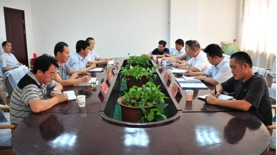 省煤炭厅督导组到中国煤炭博物馆就党建和巡