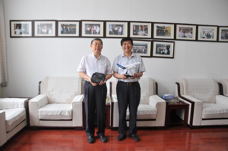 中国民航博物馆组团到中国煤炭博物馆交流参观