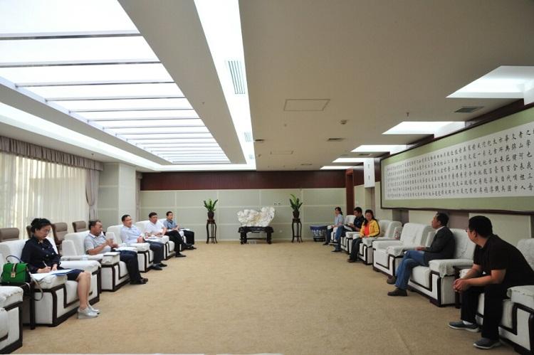 中国煤炭博物馆组团到山西博物院等单位调研