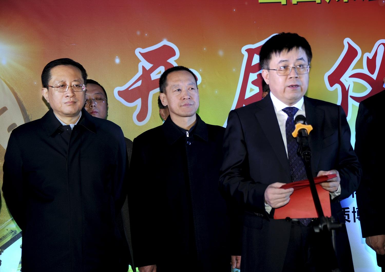 省能源局党组书记、局长王启瑞在山西煤层气主题展开展仪式讲话
