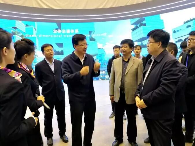 贺天才副省长督查指导2019能源革命展筹备工