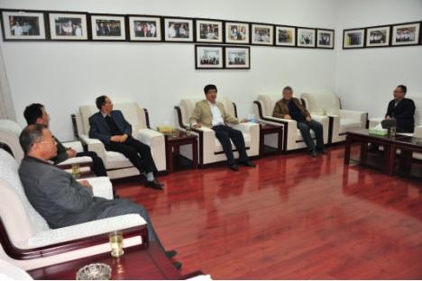 中国煤炭博物馆党委与首任馆长许向才、副馆