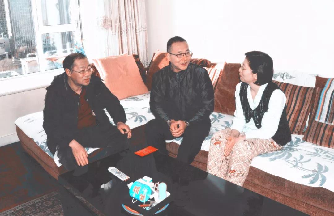 中国煤炭博物馆开展2018年春节走访慰问活动