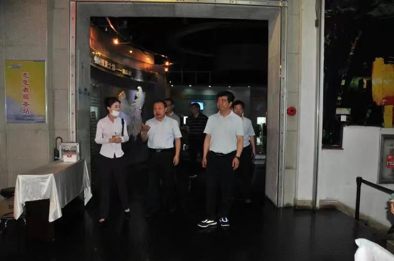 冯志君在中国煤炭博物馆调研指导